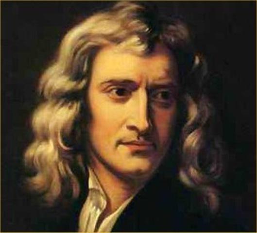 Исаак Ньютон формулирует закон тяготения