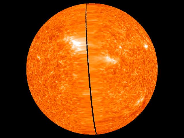 Первые фотографии Солнца