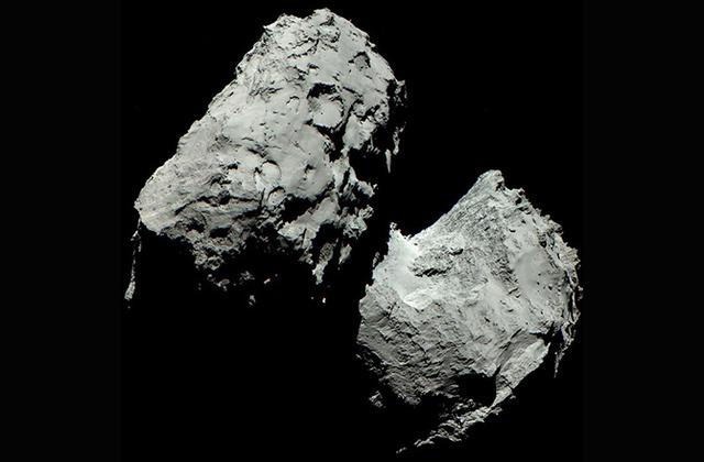 Первая фотография кометы