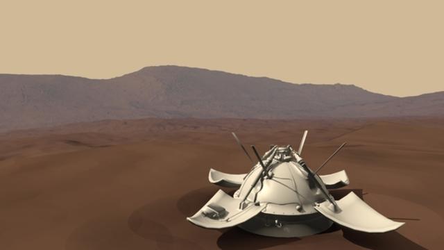 Первая мягкая посадка на Марс (Марс-3).