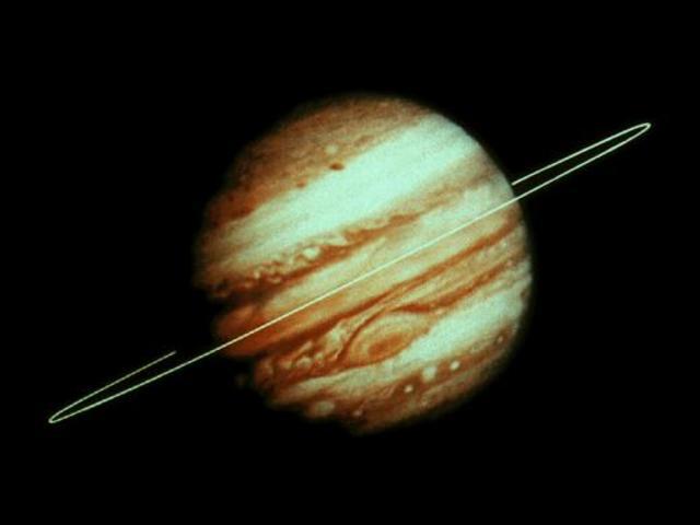 Обнаружены кольца у Юпитера