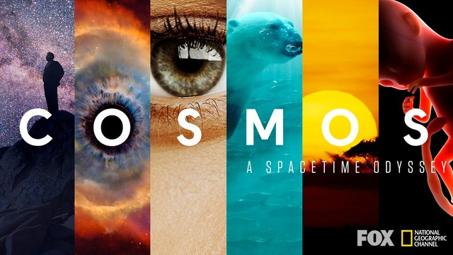 """The Documentary called """"Cosmos: A Spacetime Odyssey"""" was released to the public on the TV with its host Carl Sagan"""