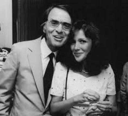 Carl Sagan married his third wife Ann Druyan
