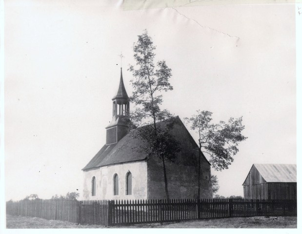 Construction de la chapelle des Cuthbert