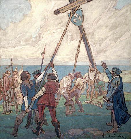 Premier voyage de Jacques Cartier et début du régime français