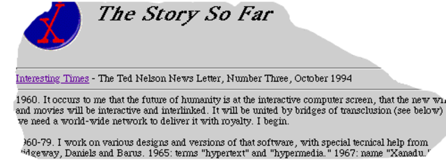 """Word """"Hypertext"""" first appears in print"""