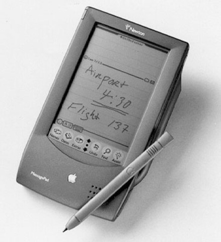 Apple Developer News #60 mentions ebooks are available for the Apple Newton