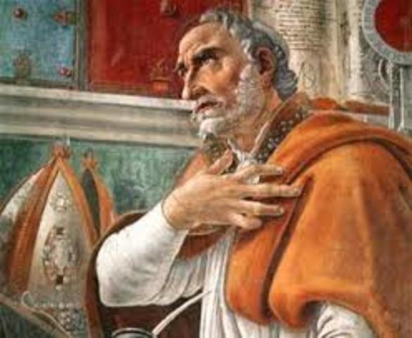 San Agustín el maestro.