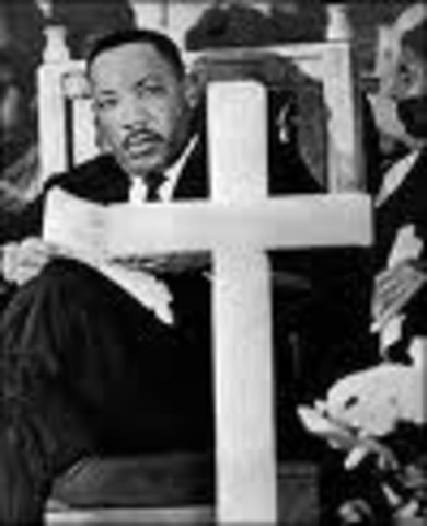 Martin Luther King passed away