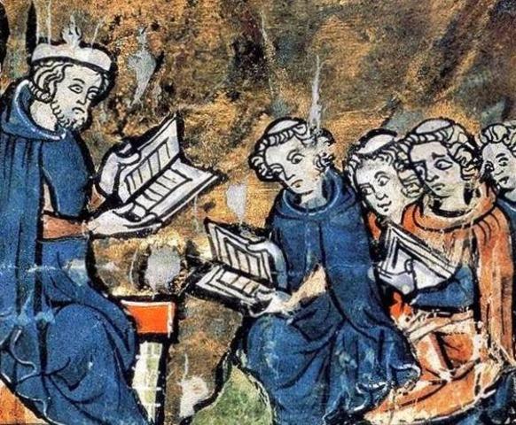 La Educación de los jóvenes en el monasterio