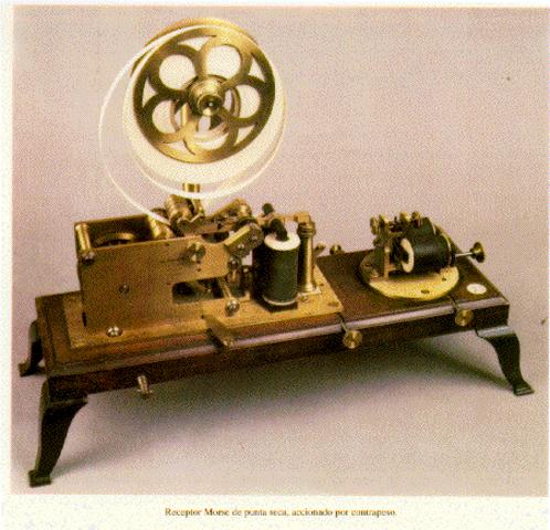 Empezó a utilizarse el telégrafo moderno.