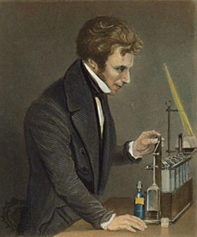 Primer trabajo científico de Faraday.