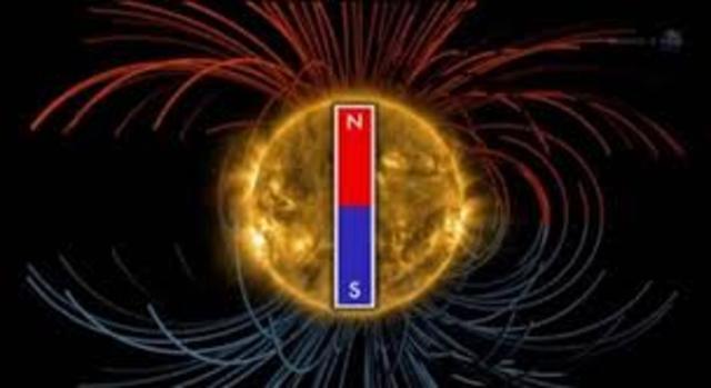Se mide por pimera vez en un laboratorio el cambio en el campo magnético.