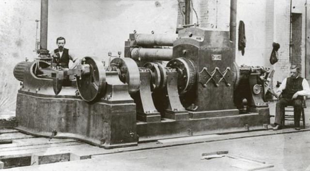 Estación eléctrica.