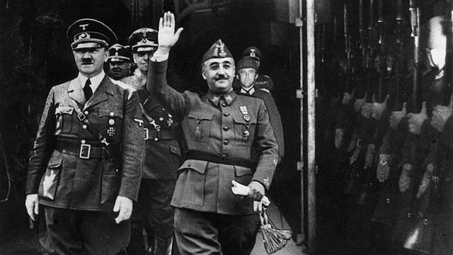 Franco pide ayuda a Hitler,