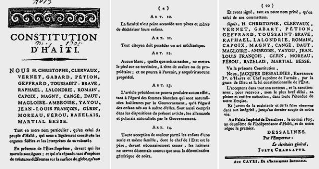 Ratification of Haiti's Constitution