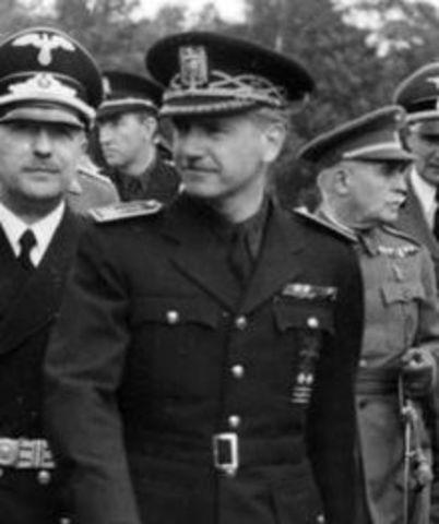 Ramón Serrano Suñer es nombrado titular del Ministerio de Interior