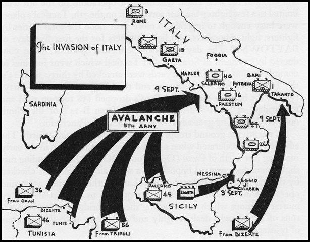 Invasion of Sicily, Italy