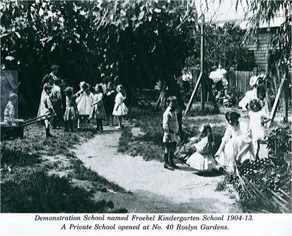 Creación del primer kinder garden por Fröbel