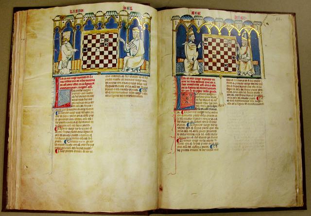 Primeras referencias literarias del ajedrez.