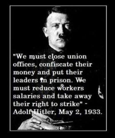 Hitler furthers Nazi control