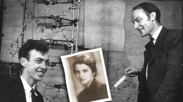 James Watson y Francis Crick, Doble Helice DNA.