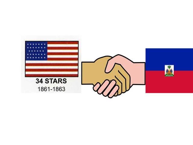 US Finally Recognizes Haiti!!!!!!!!!!