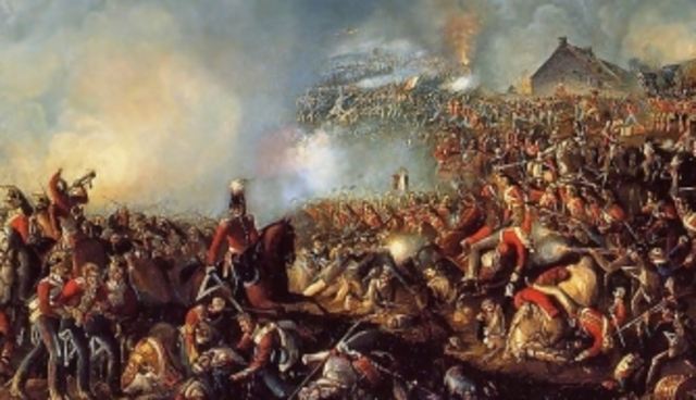 Napoléon is defeated at Waterloo