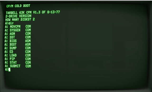CP/M (Control Program for Microcomputers)