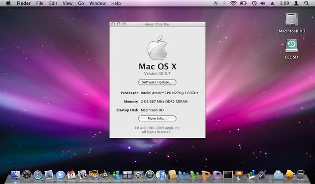 Mac OS X v10.5
