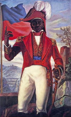The Haitian Flag is Born
