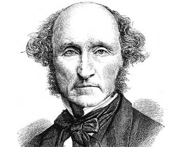 Nacimiento de  John Stuart Mill