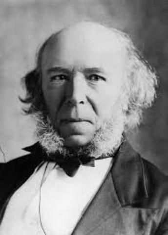 Nacimiento de Herbert Spencer