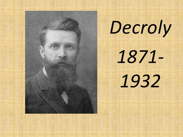 Fallecimiento de Decroly