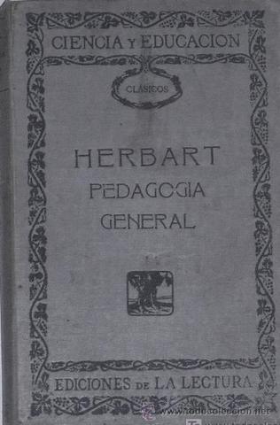 """Herbart publica su libro """"La Pedagogía General"""""""
