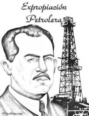 Cardenas expropia las empresas petroleras