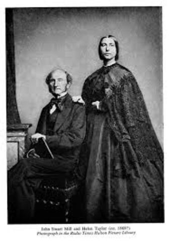 Fallece Stuart Mill en Aviñón, Francia