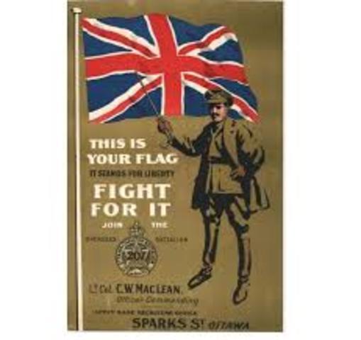 World War One Conscription Crisis