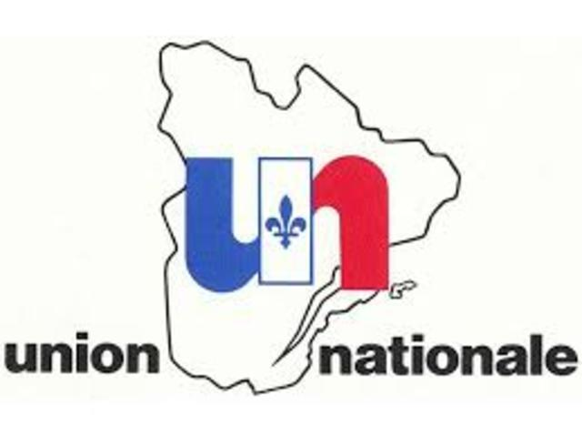 Creation of the Union Nationale Party