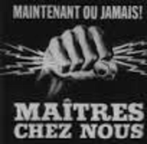 Maitre Chez Nous (Jean Lesage, Liberal Party Campaign slogan)