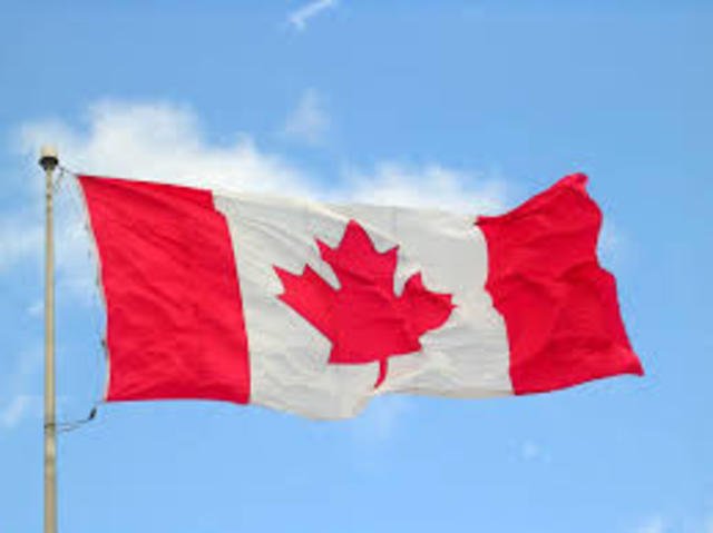 Canada's New Flag 1965