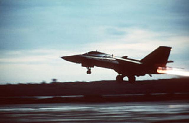US bombs Libya