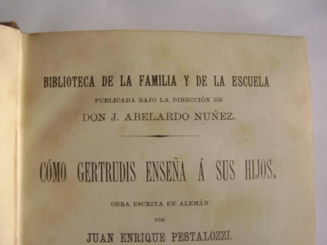 """""""COMO GERTRUDIS ENSEÑA A SUS HIJAS"""""""