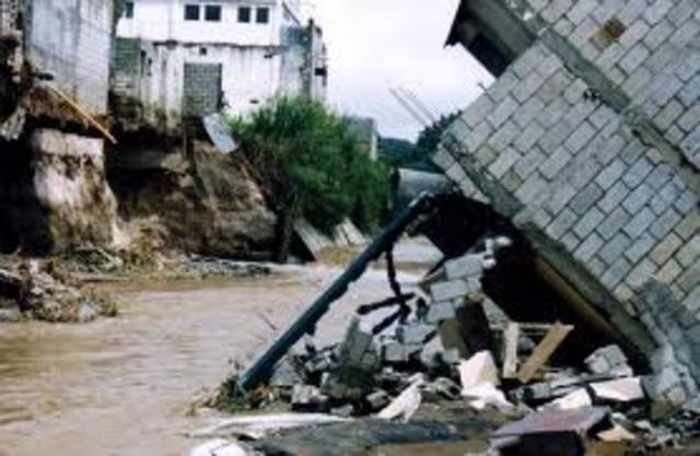 Huracán Mitch en Guatemala