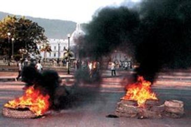 Fallido Intento de Golpe de Estado- Haití
