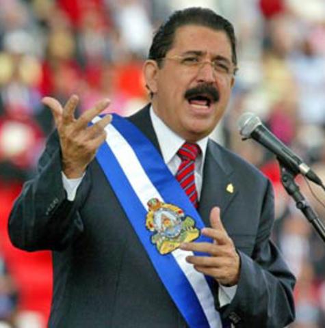 Golpe de Estado a J. M. Zelaya en Honduras