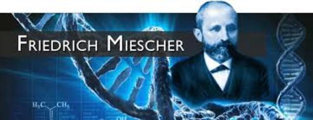 Primera publicación sobre el acido nucleico de Johan Friedrich Miescher.