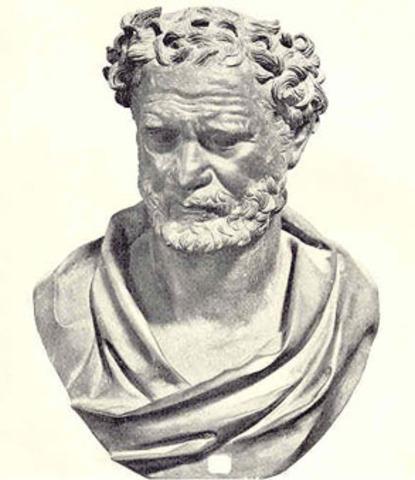 Developing the idea of the atoms - Democritus