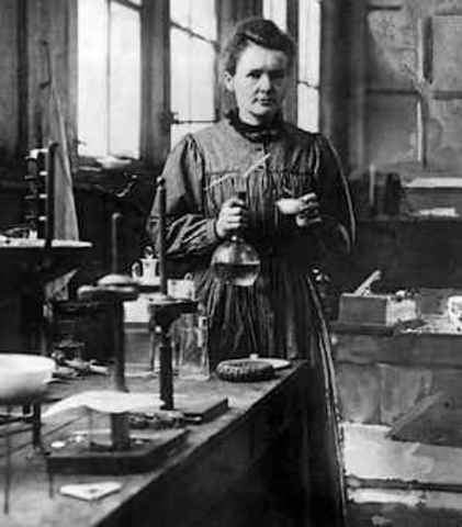 Discovery of polonium and radium compounds - Curies