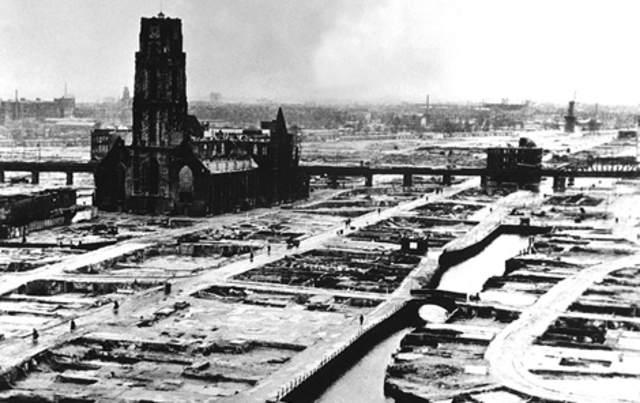 Invasión de Holanda y Bélgica